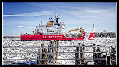 Photograph - Coast Guard Cutter Mackinaw by LeeAnn McLaneGoetz McLaneGoetzStudioLLCcom