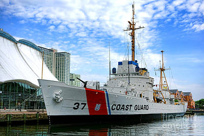Photograph - Coast Guard Cutter Taney by Olivier Le Queinec