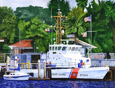 Painting - Coast Guard  by Douglas Castleman