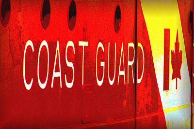 Photograph - Coast Guard Du Canada by Nadalyn Larsen
