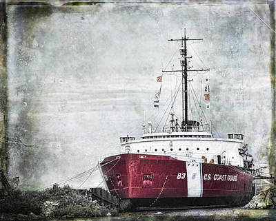 Coast Guard Art Print by Evie Carrier