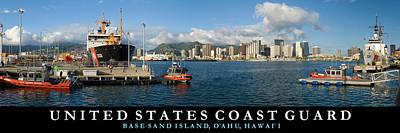 Coast Guard Hawaii Art Print