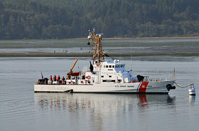 Photograph - Coast Guard Oregon by Rebecca Parker