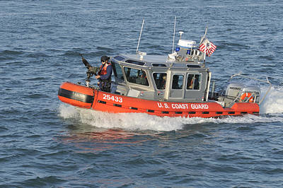 Photograph - Coast Guard Patrol Boat by Bradford Martin