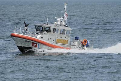 Photograph - Coast Guard Response Boat by Bradford Martin