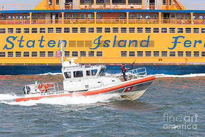 Photograph - Coast Guard Response Boat-medium I by Clarence Holmes