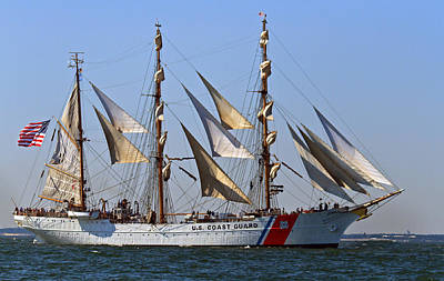 Photograph - Coast Guard Ship Eagle by Jerry Gammon