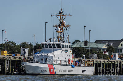 Photograph - Coast Guard Yellowfin by Dale Powell