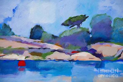 Seascape Impression Painting - Coast Impression I by Lutz Baar