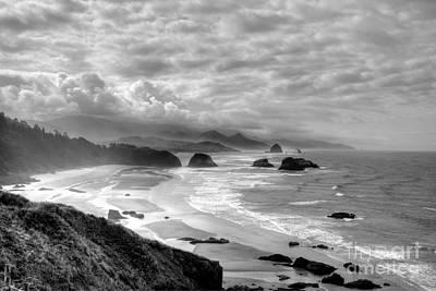 Photograph - Coast Of Dreams 2 Bw by Mel Steinhauer