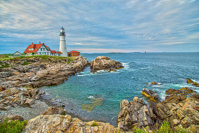 Photograph - Coast Of Maine by Karol Livote