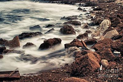Coast Print by Stelios Kleanthous