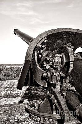 Protection Photograph - Coastal Artillery by Olivier Le Queinec