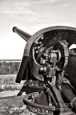 Photograph - Coastal Artillery by Olivier Le Queinec