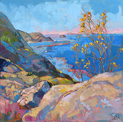 Painting - Coastal Blooms by Erin Hanson