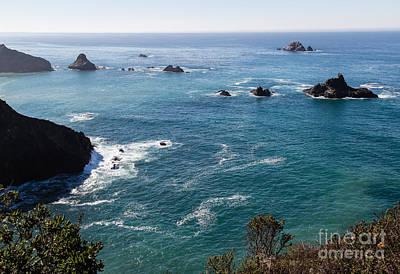 Coastal California - 473 Art Print by Stephen Parker
