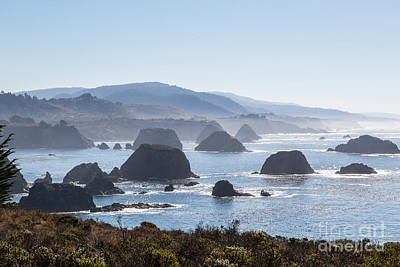 Coastal California - 474 Art Print by Stephen Parker