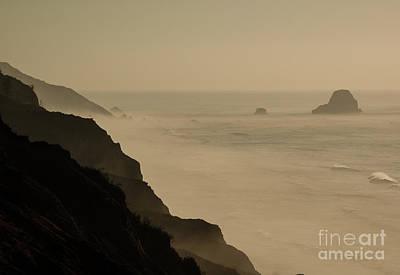 Coastal California  1.7143 Art Print by Stephen Parker