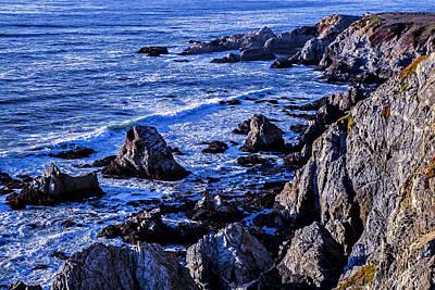 Sonoma Coast Photograph - Coastal Cliffs by Garry Gay