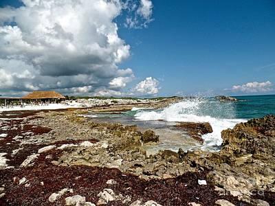 Photograph - Coastal Cozumel Mexico by John Potts