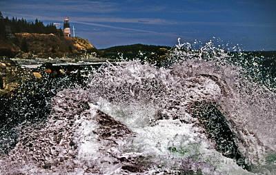 Coastal Dangers Art Print by Skip Willits