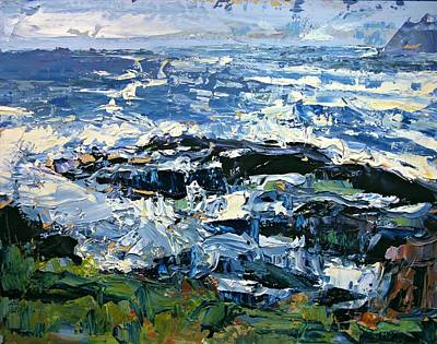 Painting - Coastal Detail 2 by Brian Simons
