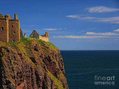 - Coastal Donnattar Castle Ancient Ruins Scotland Uk by Schwartz Nature Images
