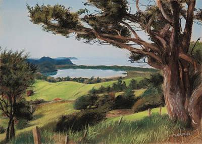 Coastal Fiji Art Print