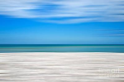 Abstract Landscape Photos - Coastal horizon 10 by Delphimages Photo Creations
