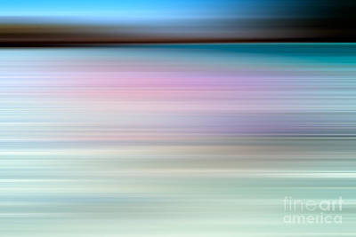Abstract Landscape Royalty-Free and Rights-Managed Images - Coastal horizon 3 by Delphimages Photo Creations