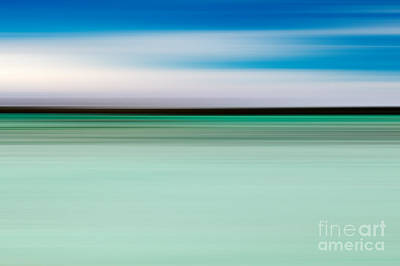 Abstract Movement Photograph - Coastal Horizon 5 by Delphimages Photo Creations