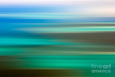 Abstract Landscape Royalty-Free and Rights-Managed Images - Coastal horizon 6 by Delphimages Photo Creations