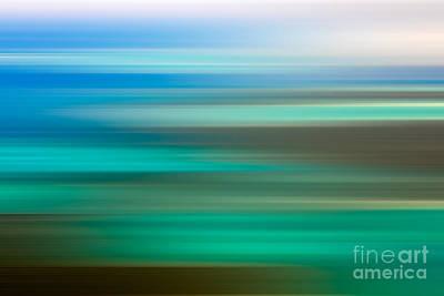 Abstract Landscape Photos - Coastal horizon 6 by Delphimages Photo Creations