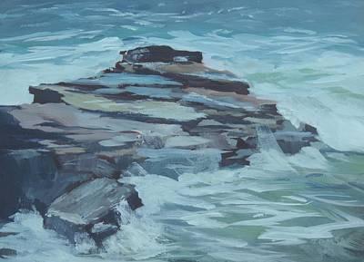 Coastal Inspiration Original by Bill Tomsa