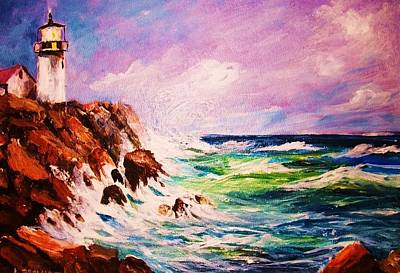 Painting - Coastal Light by Al Brown