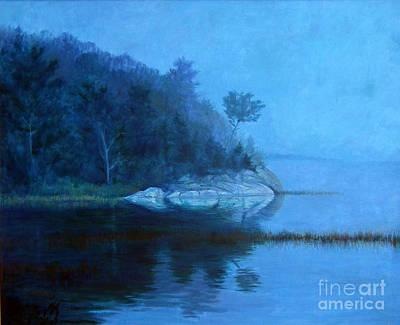 Coastal Mist   Art Print by Gerard Natale