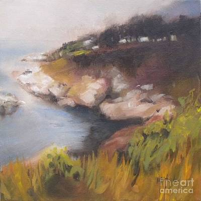 Coastal Mist Original by Mary Hubley