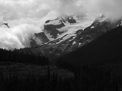 Photograph - Coastal Mountains British Columbia by Robert Lozen
