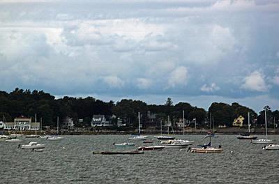 Coastal New England Village II Original by Suzanne Gaff