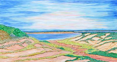 Coastal Patchwork Art Print