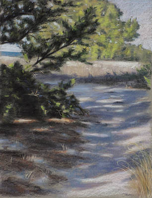 Ocean Painting - Coastal Path - Icw by Christopher Reid