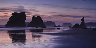 Coastal Reflections Art Print
