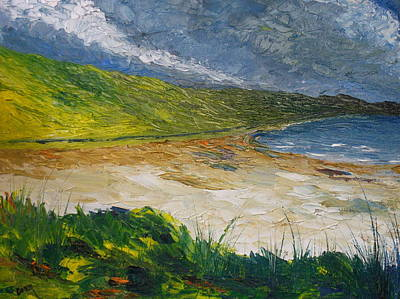 Coastal Road To Barleycove Art Print