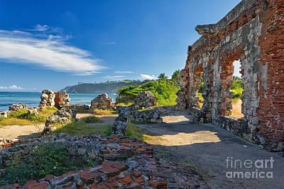 Aguadilla Photograph - Coastal Ruins by George Oze