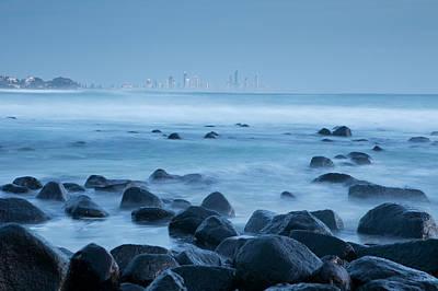 Photograph - Coastal Scene At Dawn by Andrew Watson