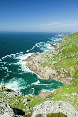 Coastal Scenery Near Zennor Print by Ashley Cooper
