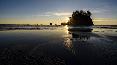 Photograph - Coastal Serenity Dusk by Mike Reid