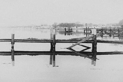 Stratford Photograph - Coastal Stillness by Karol Livote