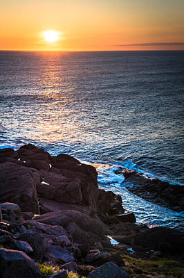 Photograph - Coastal Sunrise by David Pinsent