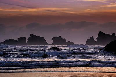 Coastal Sunset Art Print